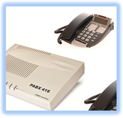 Orchid 416 PBX Business Telephone Systems Packages/bundles at shop.telcat.co.uk - Based in Leicester UK
